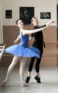 Laura Jones coached by Darcey Bussell, 2012