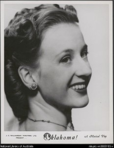 Stelsa Heckelman, Oklahoma!, J.C. Williamson production, 1949