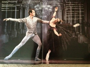 Steven Heathcote and Miranda Coney, Anna Karenina, Australian Ballet program 1995