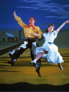 Marc Platt and Katharine Sergova, Dream Ballet, Oklahoma!