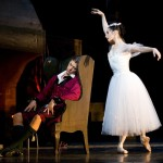 Tamara Rojo with Rupert Pennefather in La Sylphide © Johan Persson/ROH 2011