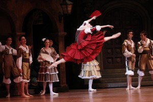Natalia Osipova in Don Quixote, Australian Ballet 2013,  photo © Jeff Busby