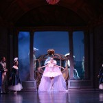 Meng Ningning as Cinderella arrives at the ball, Ben Stevenson's Cinderella, photo © David Kelly
