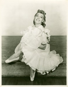 Katharine Sergava (Dream Laurey) in Oklahoma!, 1943