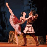Natalia Osipova and Ivan Vasiliev, Bolshoi production of Don Quixote, London 2010, photo courtesy John Ross