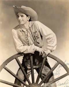 Frederic Franklin, Rodeo, photo © Maurice Seymour
