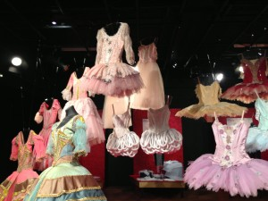 Ballet costume exhibition, Tony Gould Gallery, QPAC, Brisbane