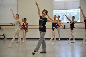 Gailene Stock teachng at the Southland Ballet Academy, California, August 2011