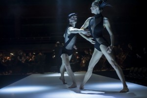 Sydney Dance Company's Les Illuminations, Thomas Bradley and Juliette Barton, photo Peter Greig