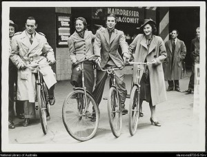 Serge Ismailoff, Anna Volkova, Oleg Tupine, Tamara Tchinarova and Paul Petroff, Covent Garden Russian Ballet in Australia 1938/39, National Library of Australia