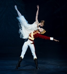 Daria Klimentova and Junor  Souza, Nutcracker, English National Ballet, photo © Patrick Baldwin