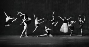 Principals and soloists of the Queensland Ballet,  photo © Harold David