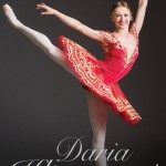 Daria Klimentova's autobiography, front cover photo © Arnaud Stephenson