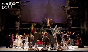 A Christmas Carol, Northern Ballet Theatre production, photo © Bill Cooper