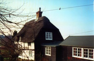 Pound Cottage, Mayfield, East Sussex, where P L Travers wrote her first Mary Poppins story, photo © Valerie Lawson