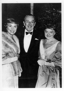 Julie Andrews, Walt Disney, Pamela Travers