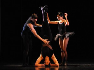 Brett Simon, Andrew Killian, Karen Nanasca, In-Finite, The Australian Ballet, photo © Branco Gaica
