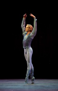 David Hallberg in Jerome Robbins' Other Dances, American Ballet Theatre, photo © Rosalie O'Connor