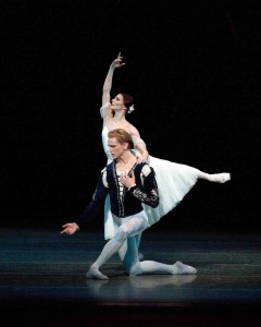 Alina Cojocaru and David Hallberg in Giselle, Act II, American Ballet Theatre, photo © Rosalie O'Connor