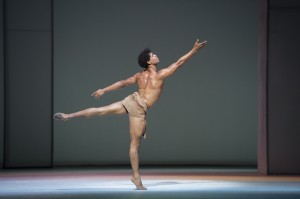 Carlos Acosta in Requiem, photo © Johan Persson
