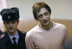 Pavel Dmitrichenko in court