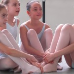Students at the Paris Opera Ballet School, Graines d'etoiles, photographer unknown