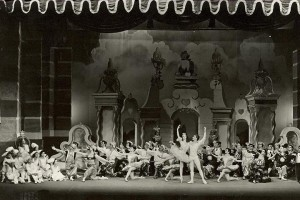 David Lichine's 1957 production of The Nutcracker for the Festival Ballet, photographer unknown