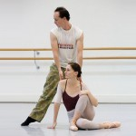 Tim Harbour and Rachel Rawlins rehearsing for Halcyon, photo © Jessica Bialek