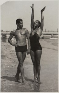 Serge Lifar and Josephine Baker, photographer unknown