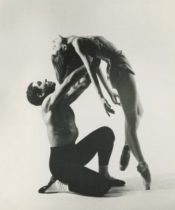 Tanaquil Le Clercq and Francisco Moncion in Jerome Robbins' Afternoon of a Faun