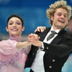 Meryl Davis and Charlie White, short program, Winter Olympics 2014, photo Damien Meyer: AFP: Getty Image