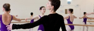 Lisa Pavane teaching students at the Australian Ballet School, photographer unknown