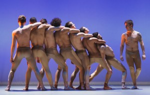 Ballet Boyz in Liam Scarlett's Serpent, photo © Panos