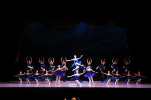 Ballet Imperial, choreography by George Balanchine, © The George Balanchine Trust, the Australian Ballet, 2014, photo courtesy of the Australian Ballet