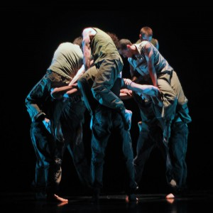 Ballet Boyz in Russell Maliphant's Fallen, photo © Panos
