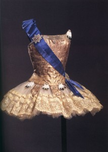 Karinska's design for Ballet Imperial, New York City Ballet, 1964