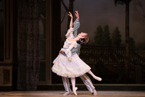 Hee Seo and David Hallberg in A Month in the Country, photo © Marty Sohl