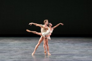 James Whiteside and Misty Copeland, Bach Partita, American Ballet Theatre, photo © Darren Thomas