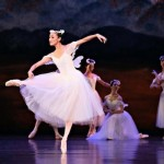 Meng Ningning, La Sylphide, Queensland Ballet, photo © Ken Sparrow
