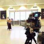 Adam Bull and Lana Jones, rehearsing The Australian Ballet's Swan Lake, choreography Graeme Murphy, World Ballet Day Live