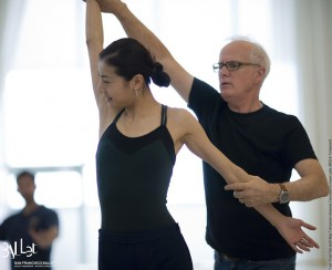 Yuan Yuan Tan with Helgi Tomasson, photo ©  Erik Tomasson