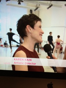 Karen Kain, artistic director, National Ballet of Canada