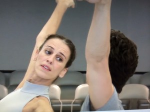 Sonia Rodriguez in rehearsal for Manon, National Ballet of Canada