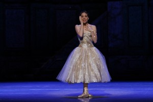 Leanne Stojmenov in Cinderella, photo © Jeff Busby