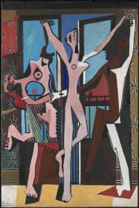 The Three Dancers, 1925, by Pablo Picasso