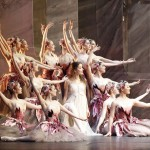 Benedicte Bernet and artists of the Australian Ballet, Nutcracker, photo © Jeff Busby