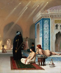 Pool in a Harem, by  Jean-Leon Gerome c.18