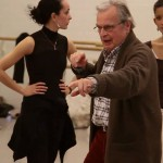 Sir Peter Wright, coaching dancers at the Dutch National Ballet, 2010