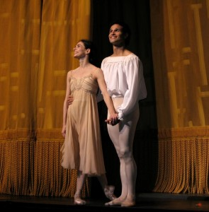 Alesandra Ferri and Jose Manuel Carreno, Romeo & Juliet, 2006, photo © Kent G. Becker