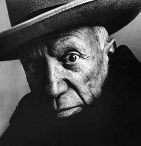 Picasso, 1957, photo © Irving Penn